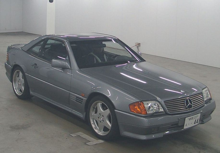 Mercedes benz sl 1992 aj corporation for 1992 mercedes benz sl500