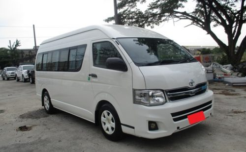 Toyota Hiace Commnuter 2010 Thailand